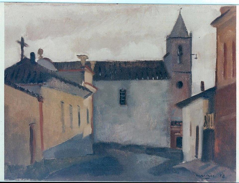 Igreja do Rosario de Barbacena MG - 1948