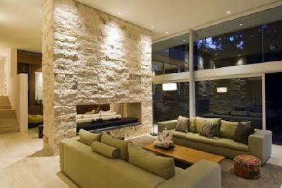 pedras revestimento de parede