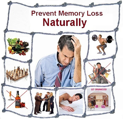 How to prevent memory loss naturally?