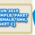 Kisi-Kisi Soal UN (UNAS) SD/Mi, SMP/Mts, SMA/SMK, SLB Sederajat