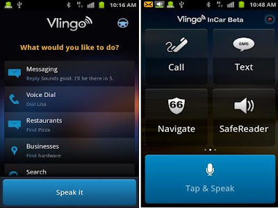 Vlingo Android Voice Assistant