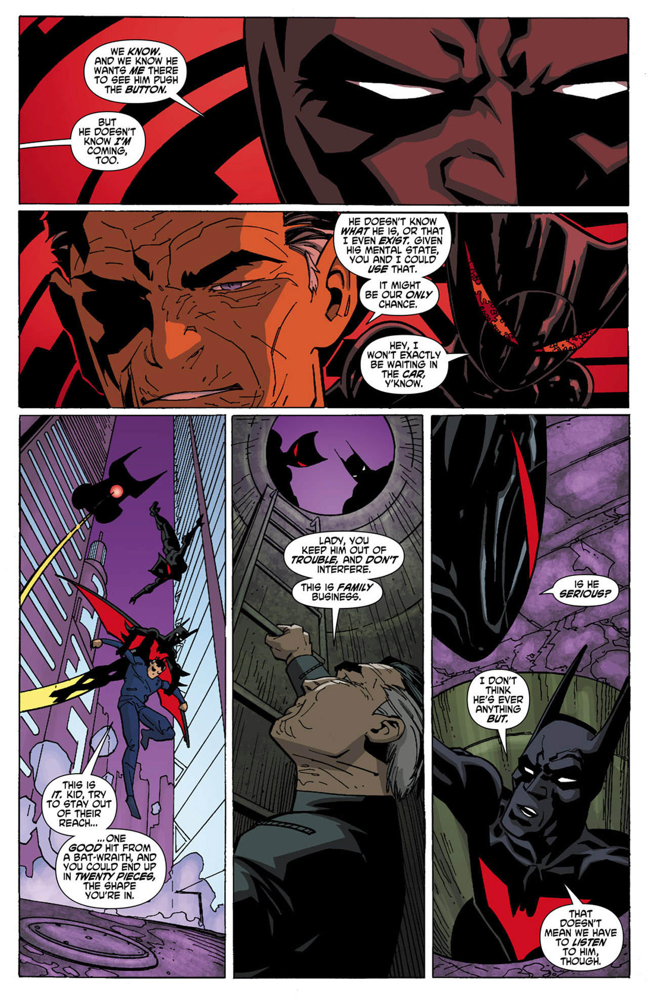 Batman Beyond (2010) Issue #6 #6 - English 8
