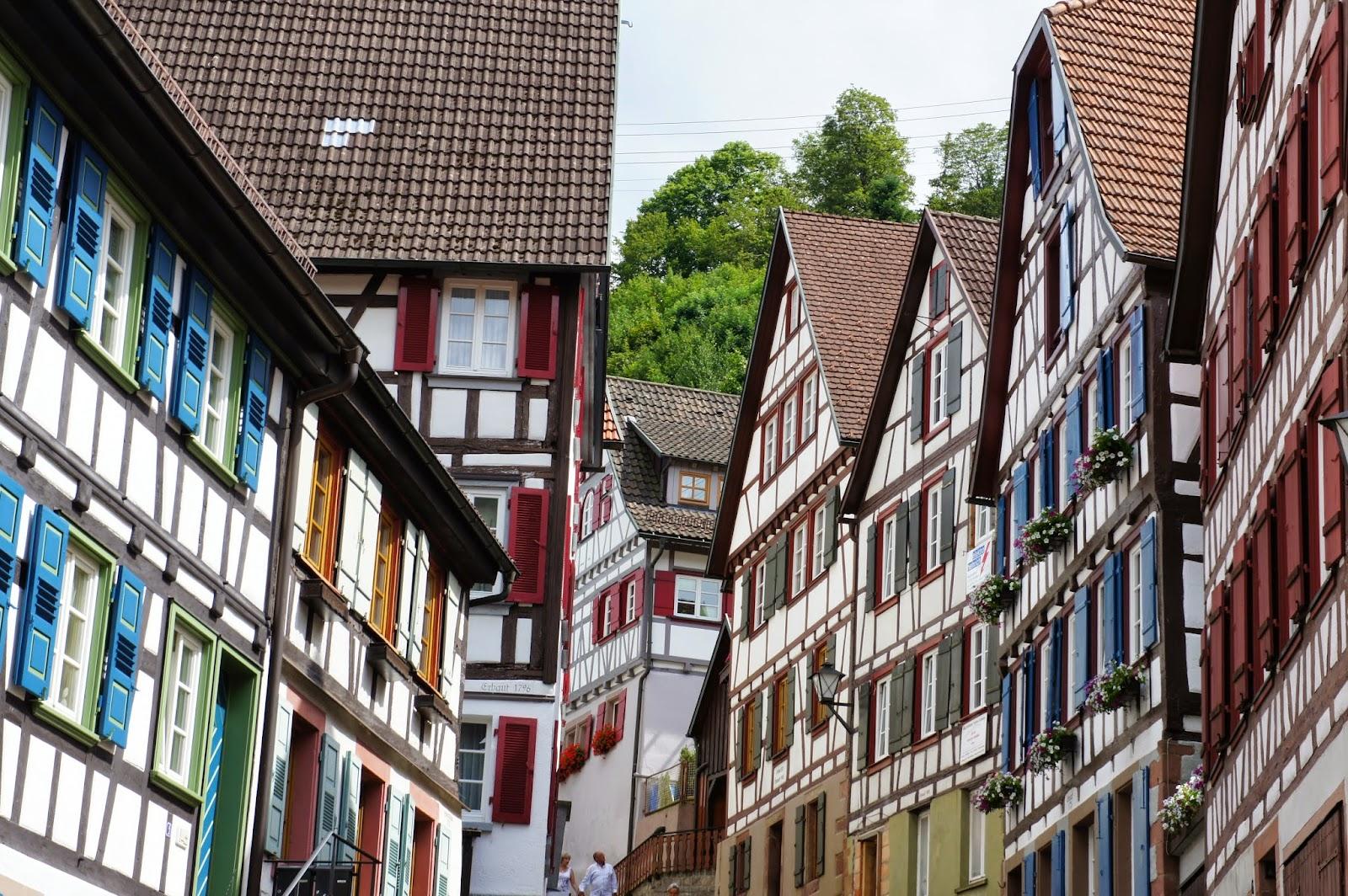 Casas típicas en Schiltach. Selva Negra