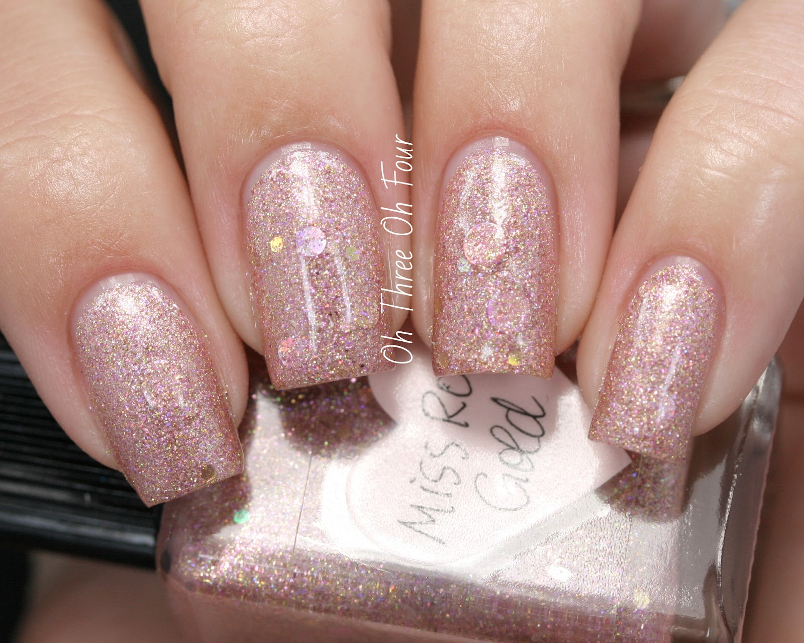 Lynnderella Miss Rose Gold Swatch