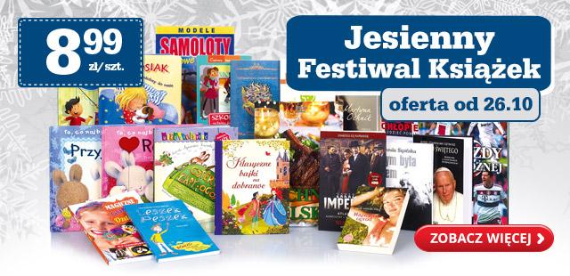 Jesienny festiwal książek w Biedronce!