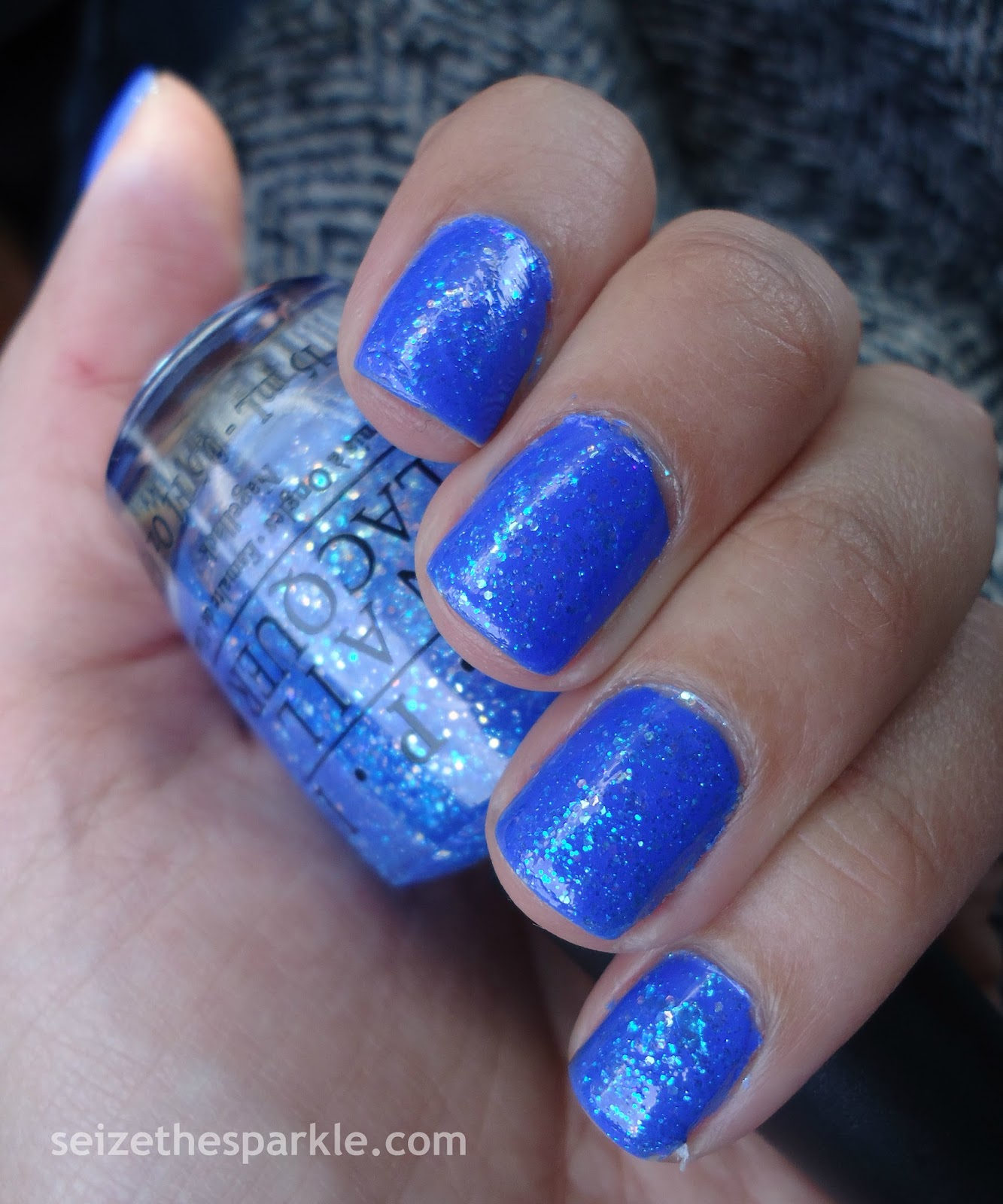 Layering with Sally Hansen Pacific Blue