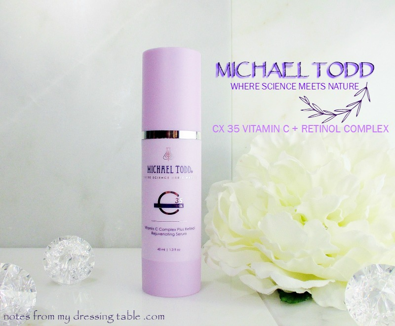 Michael Todd CX Vitamin C Plus Retinol Complex for Beautiful Skin - notesfrommydressingtable.com