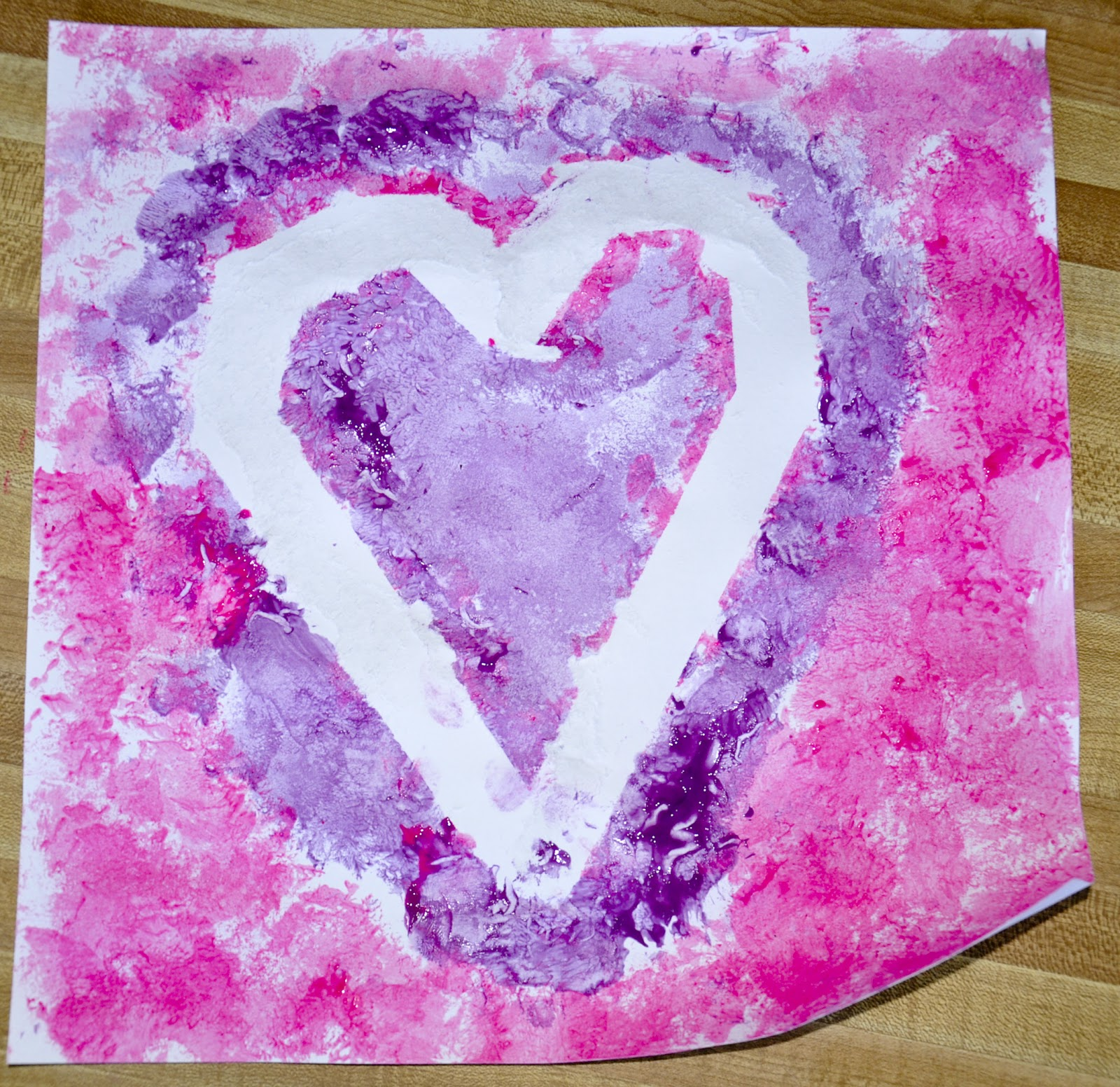 Pretty purplexing valentine art projects for kids for Pretty project