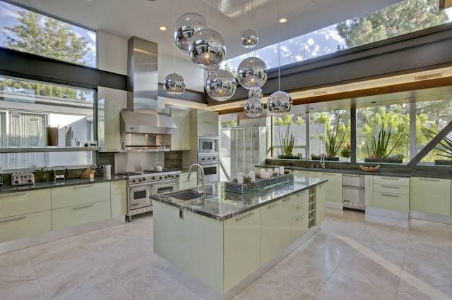 gambar dapur rumah justin bieber