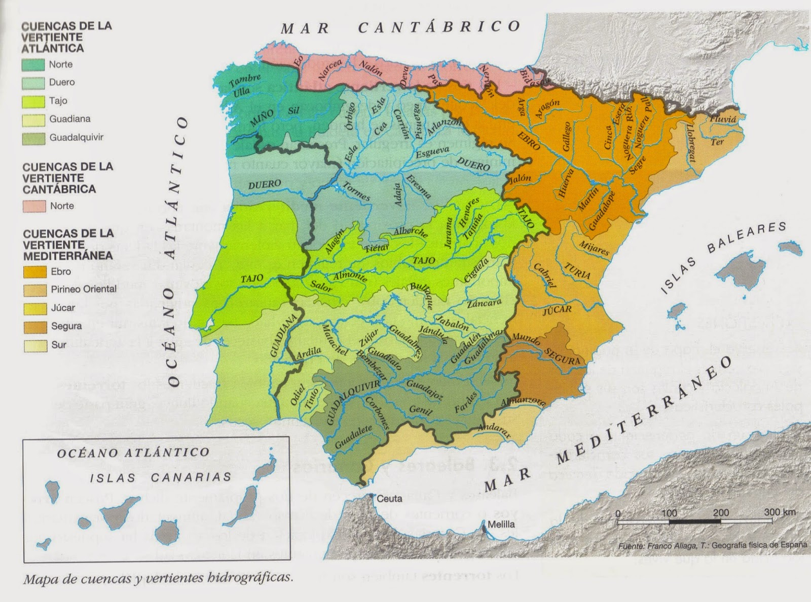 Discovering the world physical geography of spain we have also started learning about the most important rivers of our country you can practice in this interactive maps rivers of spain whats the name gumiabroncs Images