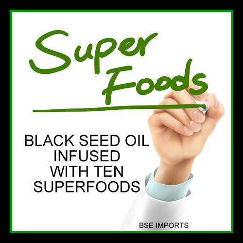 Black Seed Oil Infused with 10 Superfoods