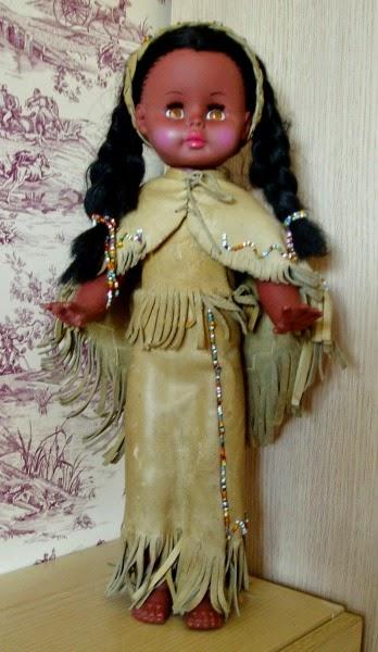 doll squaw vintage.