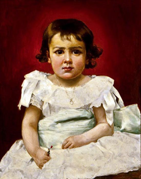 Emilio Sala Francés, Retrato de Luisita