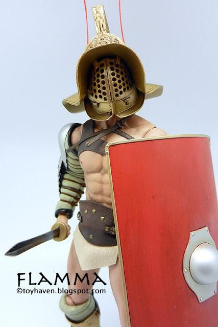 toyhaven: ACI 1/6 Roman Gladiator Flamma 12-inch Figure