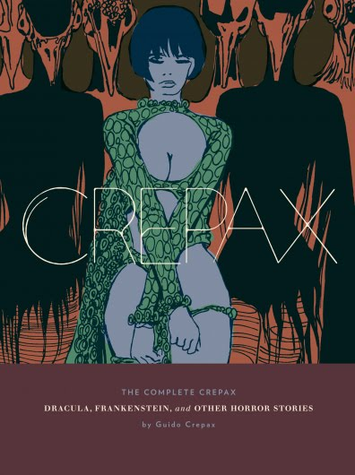 First Fantagraphics Crepax book
