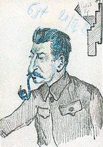 """""""Grover Furr y  y Vladimir L. Bobrov: Una evidencia más de la culpabilidad de Bujarin"""" - publicado en el blog Crítica Marxista-Leninista en enero de 2013 Bujarin+-+Dibujos+-+Stalin"""