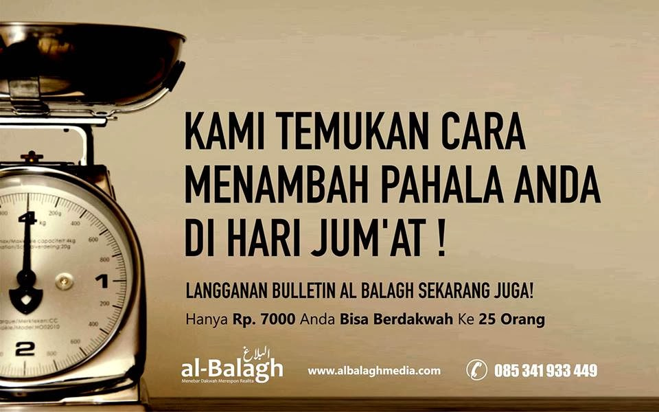 Iklan Buletin al-Balagh