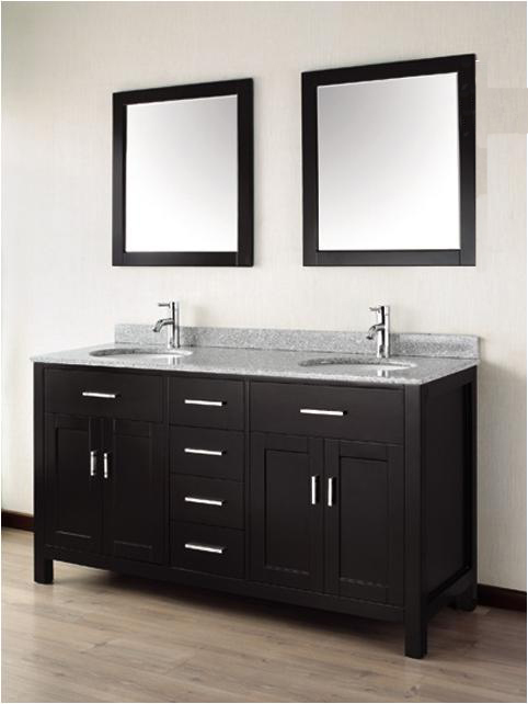 Custom bathroom vanities designs minimalist home for Bathroom double vanity designs