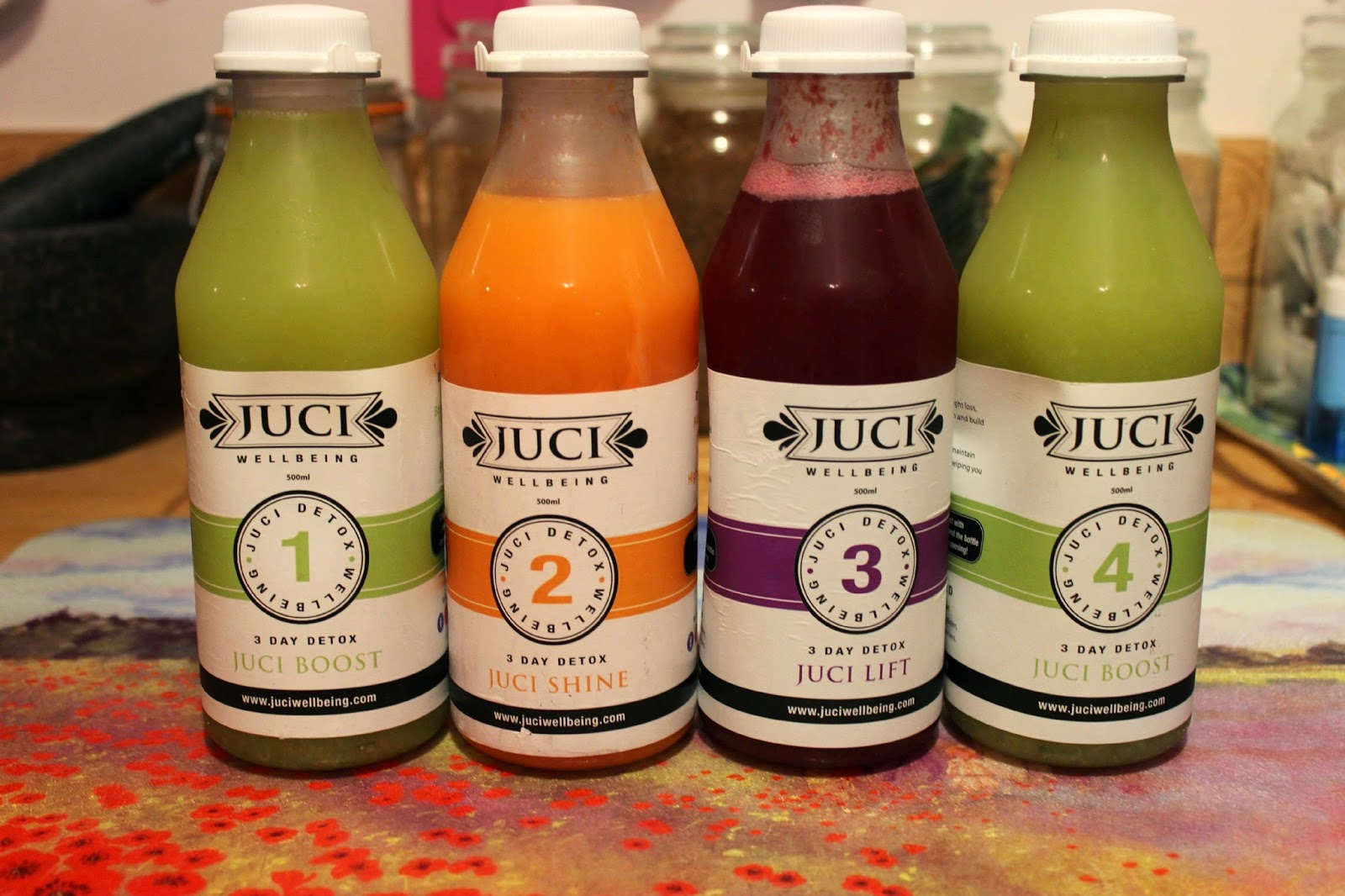 Picture of Juci Wellbeing 3 day detox