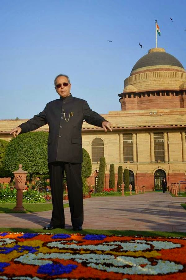 Indian president pranab mukherjee shares some new photos for Puppet consul template