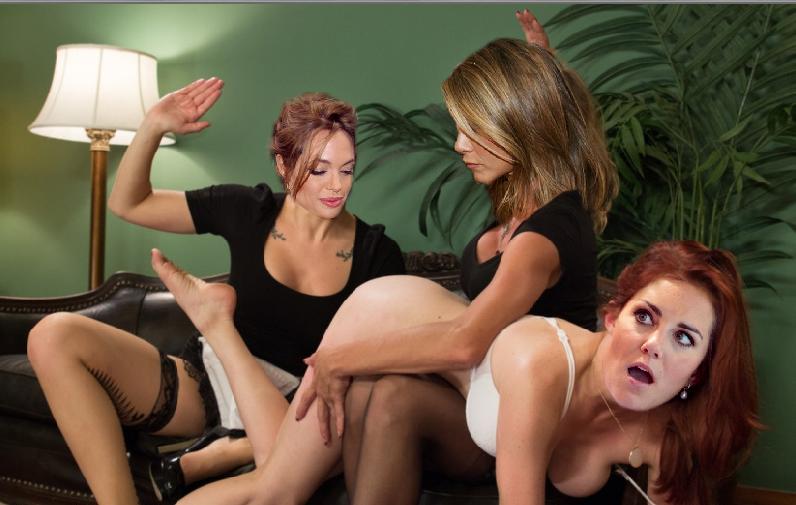 Лезбиянки русские наказала