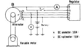 repair manuals toyota nippondenso 1963 74 alternator regulator relay ammeter type test circuit
