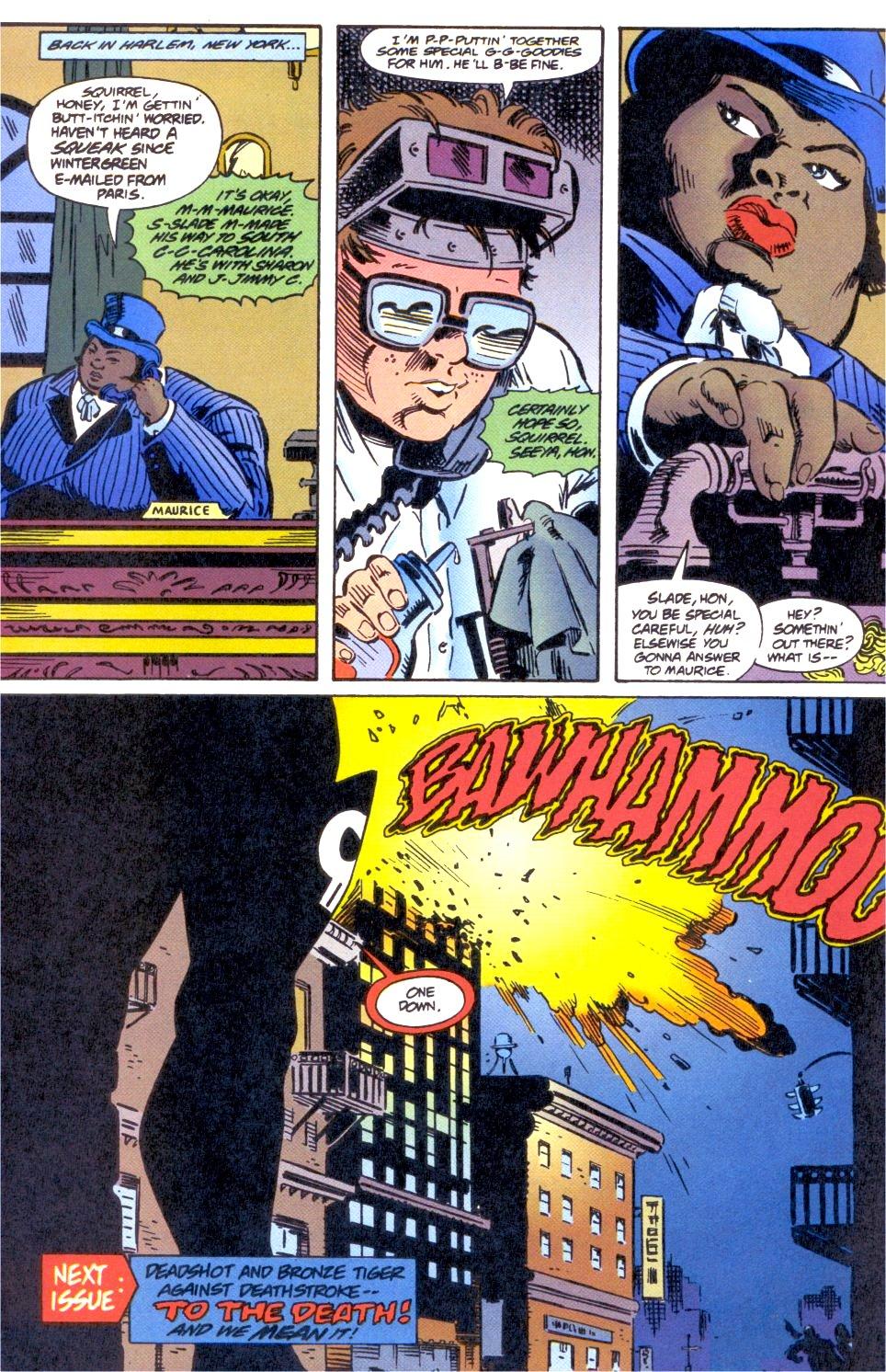 Deathstroke (1991) Issue #0 #5 - English 25