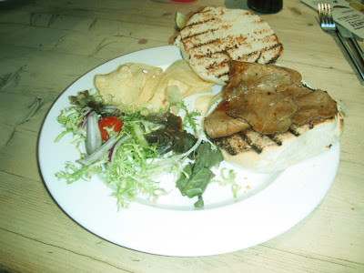 Roast Beef and Gravy Sandwich