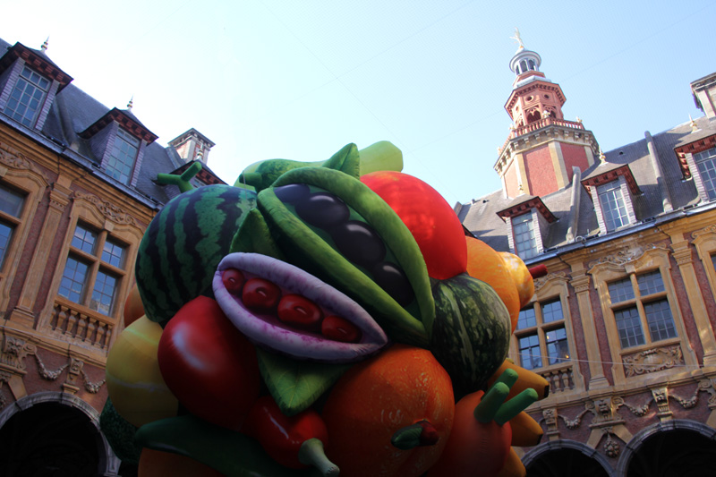 Lille 3000 Renaissance Métamorphoses Urbaines Vieille Bourse