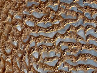 Padang pasir Rub' al Khali di Semenanjung Arab