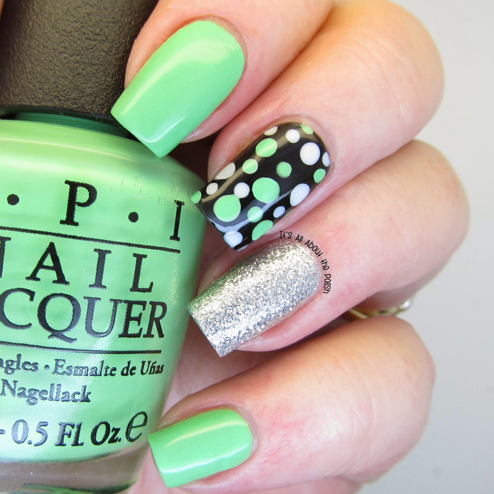 It\'s all about the polish: OPI Neon - You Are so Outta Lime