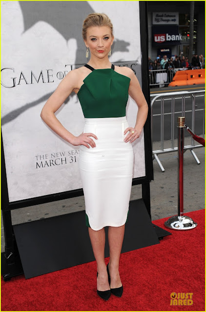 Natalie Dormer premiere los angeles - Juego de Tronos en los siete reinos