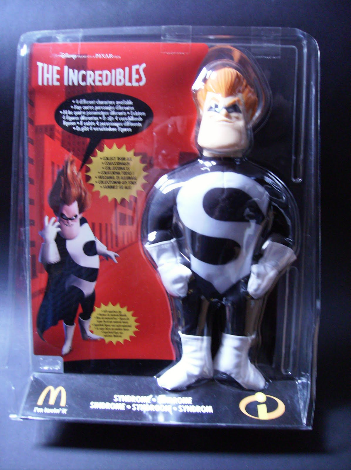My Best Toys: The Incredibles - Soft Toys do McDonalds...