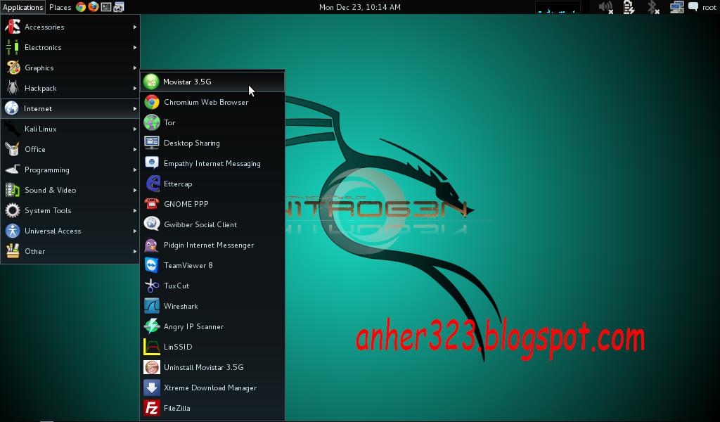 application > internet >Movistar 3.5G