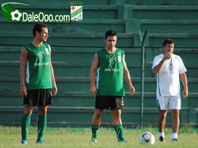 Oriente Petrolero - Gualberto Mojica, Marcelo Aguirre, Erwin Sánchez - Club Oriente Petrolero