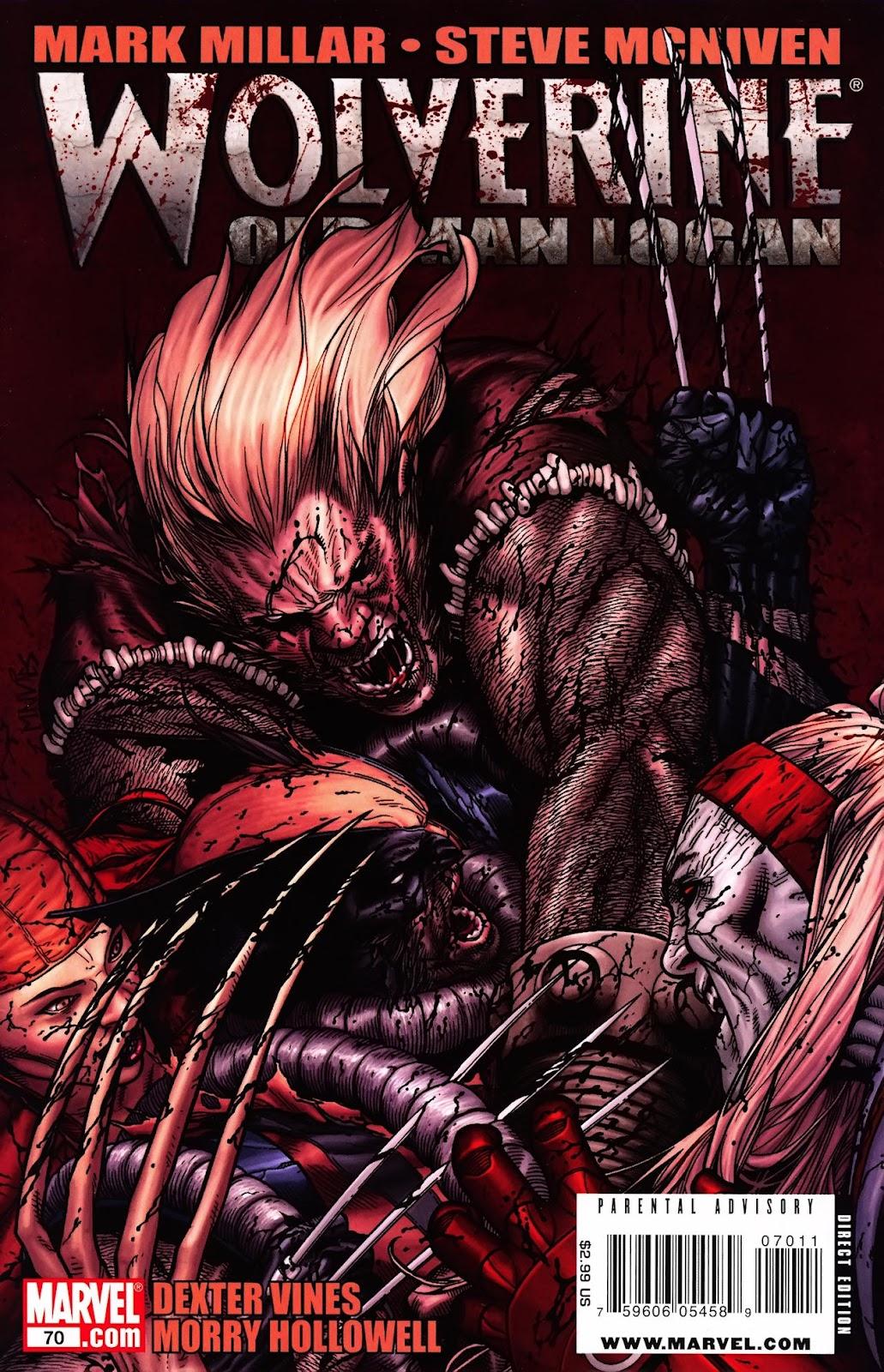 Read online Wolverine (2003) comic -  Issue #70 - 1