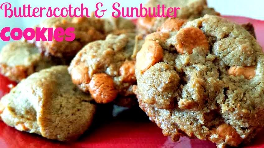 B Is 4 Butterscotch And Sunbutter Cookies
