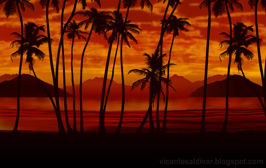 gallery for gt scarface palm tree mural