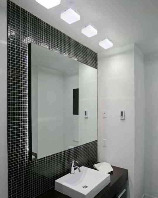 Banheiros com pastilhas  37 modelos decorados  Decor Alternativa -> Banheiros Decorados Atuais