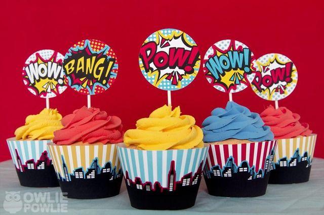 Superhero Baby Shower Cake Ideas