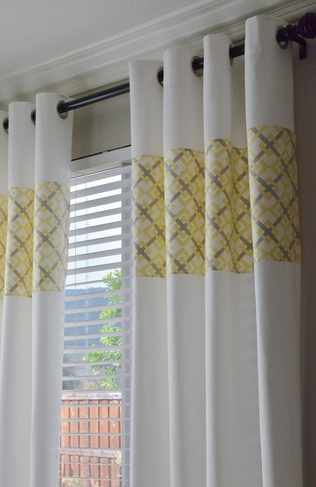 Curtains And Valances Sets Greu Yellow Curtain Panels