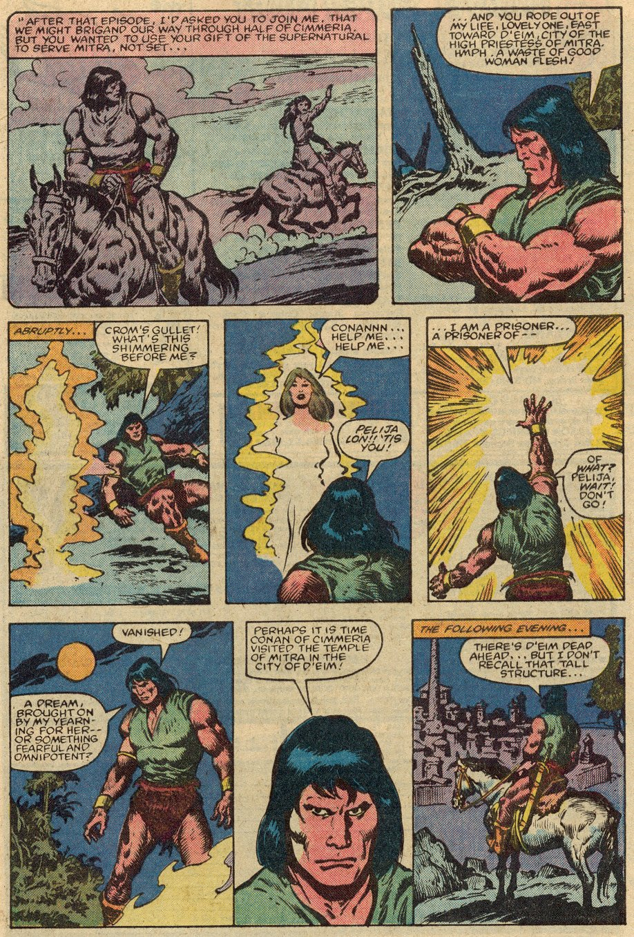 Conan the Barbarian (1970) Issue #147 #159 - English 6