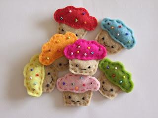 muffin hűtőmágnes
