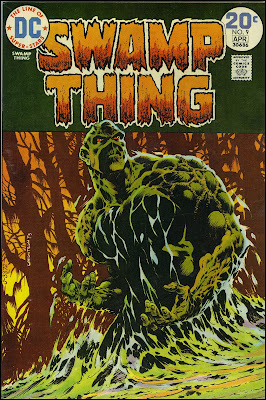 Swamp Thing. Art by Bernie Wrightson