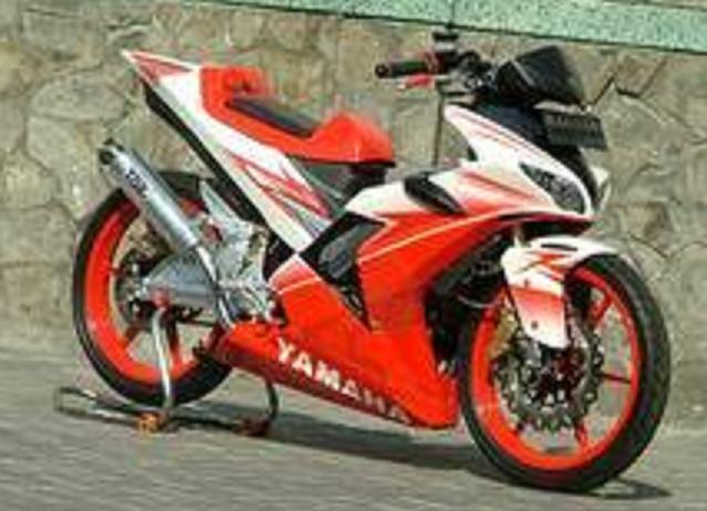 Modifikasi Motor Bebek Menjadi Motocross  Wallpaper Modifikasi Motor