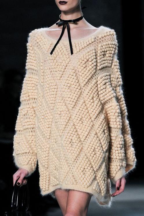 Camisola de lã para esta estação outono inverno 2014