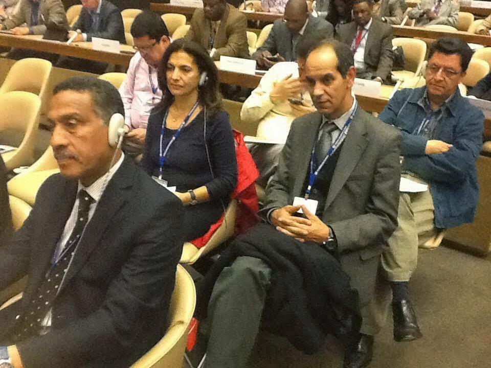مشاركة وفد رفيع المستوى من الاتحاد المغربي للشغل في أشغال مؤتمر العمل الدولي بجنيف بدورته (103)  للفترة الممتدة من :28 -5-2014 لغاية 12-6-2014