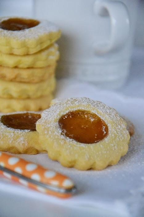 biscotti di miglio con confettura di fichi