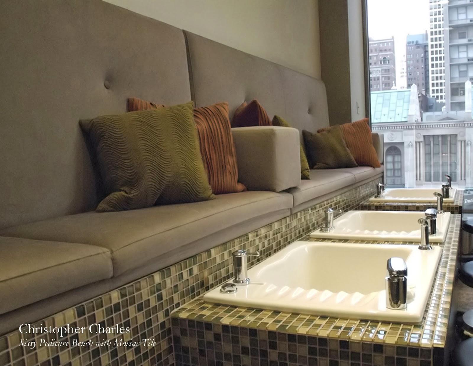Michele Pelafas Nail Spa Salon Design