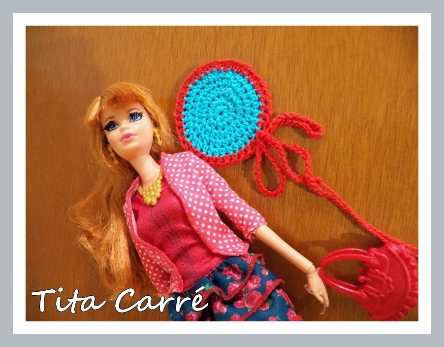 Barbie Maddy e seu circle crochet